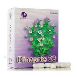 Dinaprós 22 60 cápsulas.