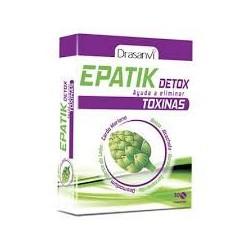 Epatik Detox 30 comprimidos.